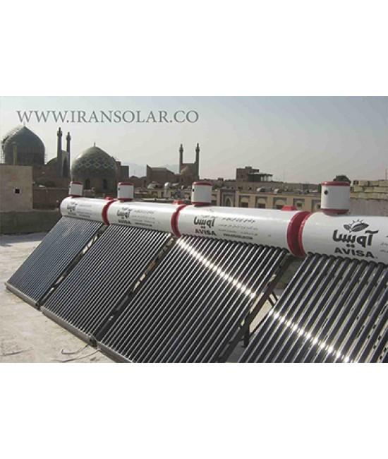 آبگرمکن خورشیدی شناوردار- فلوتر دار