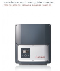 Inverter Platinum 11000 R3-M اینورتر سینوسی متصل به شبکه پلاتینیوم سری R3-M