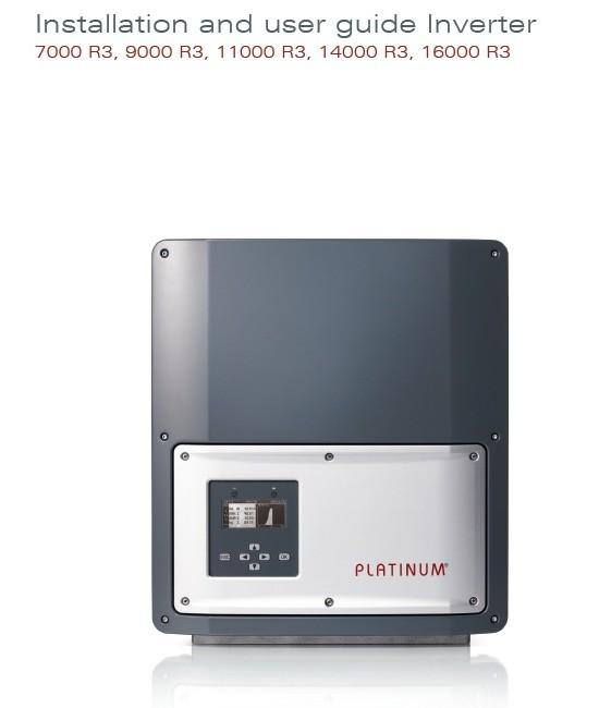 Inverter Platinum 16000 R3-M اینورتر سینوسی متصل به شبکه پلاتینیوم سری R3-M