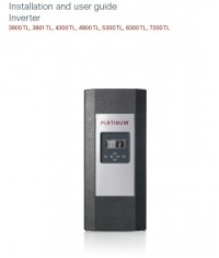 Inverter Platinum 6300TLD اینورتر سینوسی متصل به شبکه پلاتینیوم سری TLD