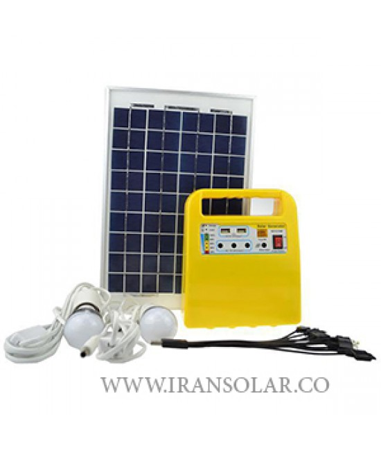 پکیج خورشیدی قابل حمل 10 وات